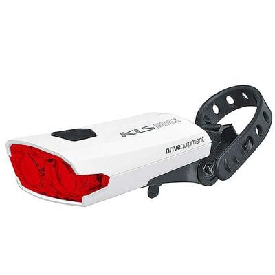 Kellys Taillight Rechargeable KLS Index USB 016 R, White