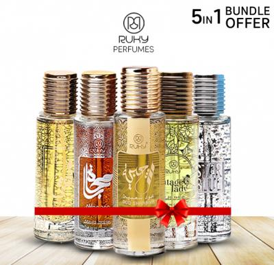 5 in 1 Ruky Perfume Saver pack