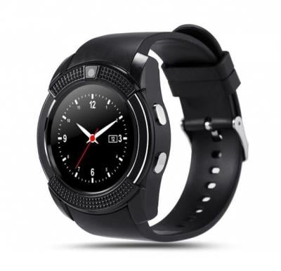 G-tab Smart Watch With Sim Card And Bluetooth, W300  Black