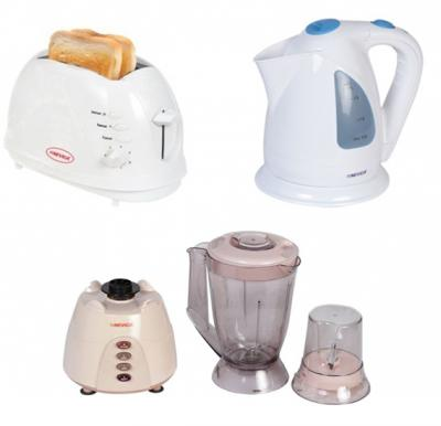 Nevica 3 in 1 Kitchen Bundle, Cordless Kettle with Toaster and Blender