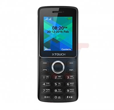Xtouch L1 smart phones,1.8 Inch Display,32MB Storage, Camera,Dual SIM,Bluetooth,MP3-Black
