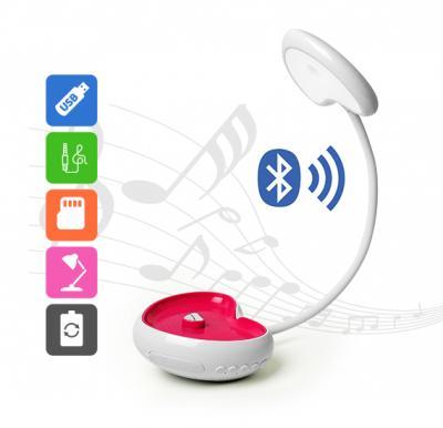 5 IN 1 LED & Music Desk Lamp Wireless Bluetooth Speaker, HY-26