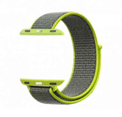 Promate Fibro-42 Watchband Strap for Apple Watch 42mm/44mm, Green