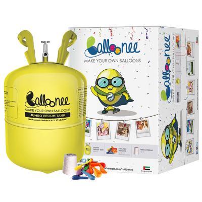 Balloonee Jumbo Disposable Helium Party Kit IFIN-PT2-BLNE-000766