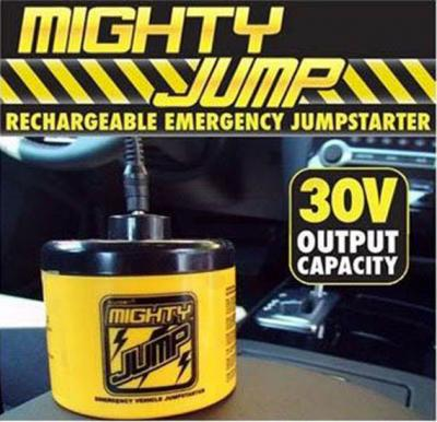 Mighty Jump Rechargeable Emergency JumpStarter