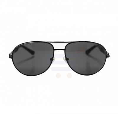 Aigner Aviator Black Frame & Green Mirrored Sunglasses For Unisex - AI-SM-01A-COL1