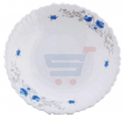 RoyalFord Opalware 9 Inch Soup Plate White - RF5680