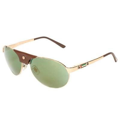 Chopard SCHA25 Aviator Sunglasses For Unisex Gold, Size 60, UAE National Day Limited Edition