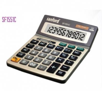 Sanford Calculator 12 Digits - SF1551C