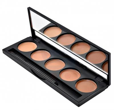 GlamGals 5 Color Concealer Brown - SFWA005B