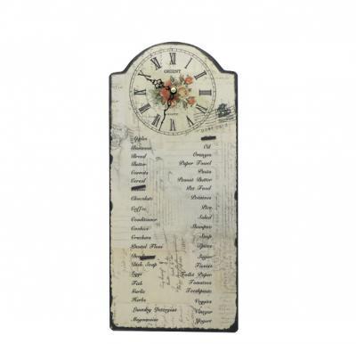 Orient clock menu, OC-DYH101802