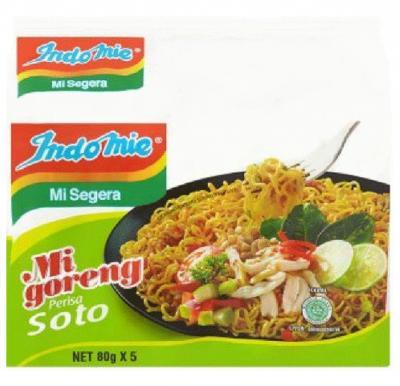 Indomie Vegetable Soto Mie Flavour 75g, 195437