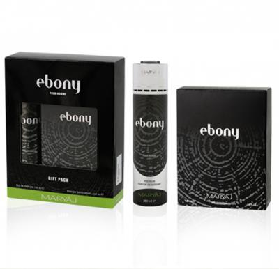 Maryaj Ebony Gift Set For Men, EDP 100ml and  Deo Spray 200ml