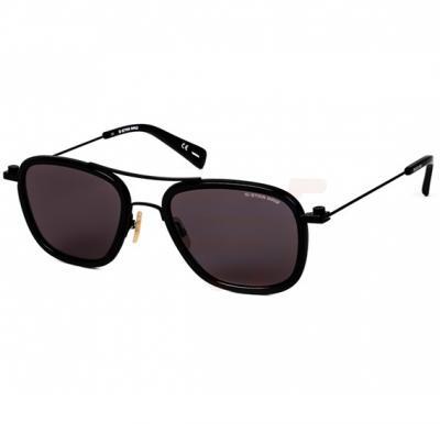 G-Star Aviator Black Frame & Grey Mirrored Sunglasses For Unisex - GS111S-001