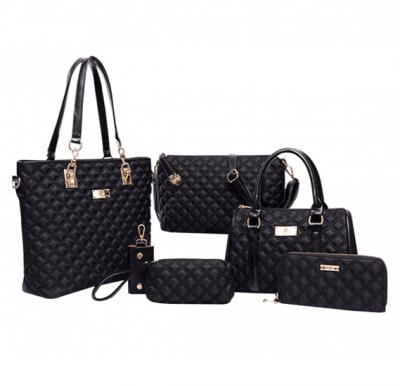 6 Piece Bags Hot Package New Arrival Women Choice, Black
