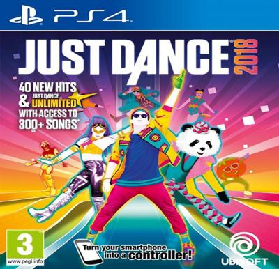 Ubisoft Just Dance 2018 For PS4