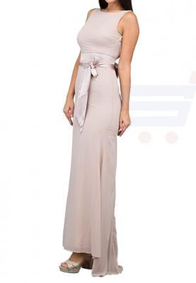 TFNC London Halanna Fitted Maxi Dress Whisper Pink - TNV 4070 - XL