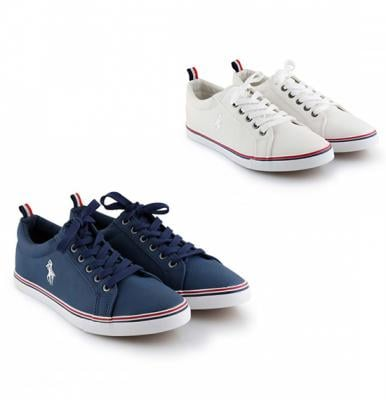 2 pair Casual Shoes for men GH-859, Size 40, Blue and White