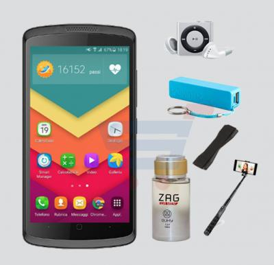 Bundle Offer-Buy Lafee 8076 3G Smartphone, 4 Inch Display, 1GB RAM,8GB Storage, Get Ruky Zag Perfume For Men, MP3 PLayer, Power Bank, Selfie Stick And Mobil Grip Free - Black