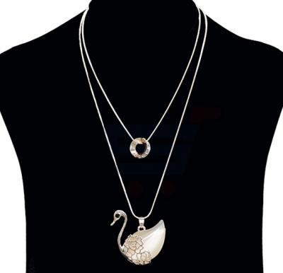Fashion Jewelry Duck design Necklace NO.FJ-404