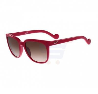 Liu Jo Rectangular Pink Frame & Gradient Mirrored Sunglasses For Woman - LJ637S-525
