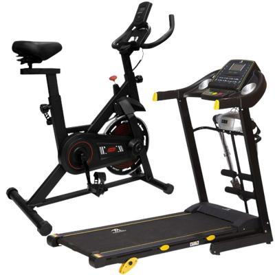 2 In 1 TA Sports Treadmill Rear 1HP 2HP T4401M with Massager TA, 420x1250 And Ta Sports Spin Bike OO4 BLK