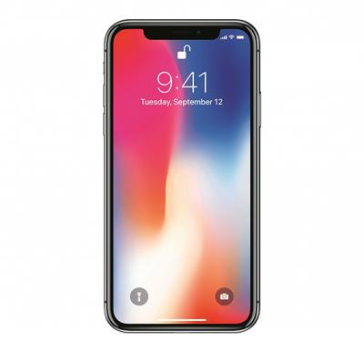 Apple iphone X Smartphone, iOS11, 5.8 Inch HD Display, 3GB RAM, 64GB Storage, Dual Camera, Wifi- Space Grey With Facetime