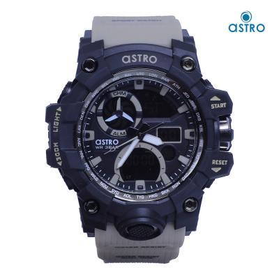 Astro Kids Analog-Digital Black Dial Watch A20808-KHAKI, Size 54