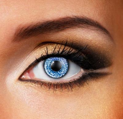 Mystic Sapphire Blue Colour Eye Contact Lense