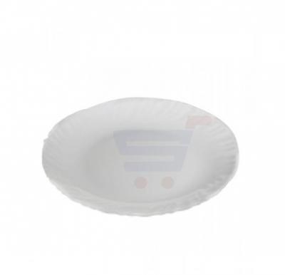 Flamingo Opal Ware Flat Plate White 8.5 Inch - FL7301OW