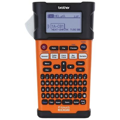 Brother PTE300 Industrial Handheld Labeling Tool With Rechargeable Li-ion Battery