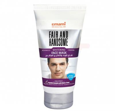 Emami Fair&Handsome Advanced Whitening Firming Face Mask 75ml - 9580