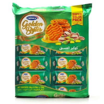 Cremica Golden Bytes Butter Pisthachio 8x90gm