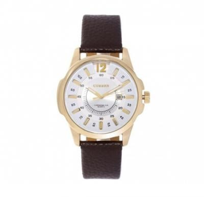 Curren 8123 Watch For Men Leather Strap