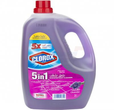 Clorox Disinfectant Cleaner 5 in 1 Lavender 3L