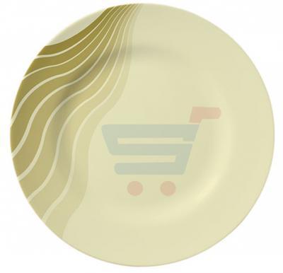 Royalford Melamine Ware 8 Inch Dinner Plate AquaThai - RF8139