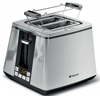 Hotpoint Toaster 850W TT22E AX0 Inox Chrome