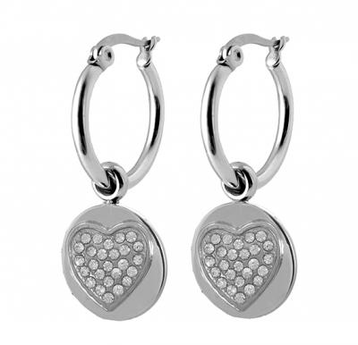 Coco88 Stainless Steel Dangle Earring, Latch Closure ,8CE-50007