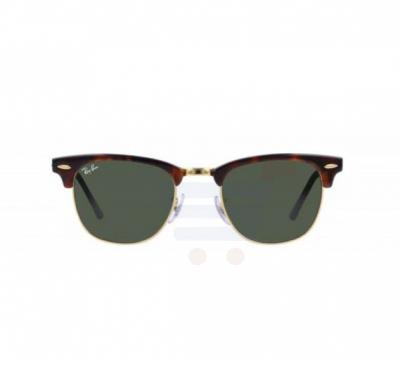 Ray-Ban Square Tortoise Frame & Classic Green Mirrored Sunglasses For Unisex - RB3016-W03-66-51