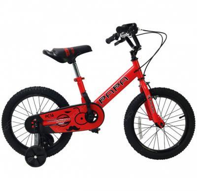 Papa Steel Alloy Bike For Kids Red, PC16