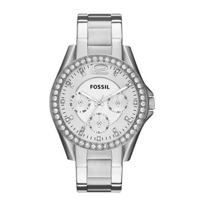 Fossil Riley Analog Silver Dial Ladies Watch , ES3202
