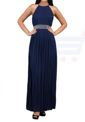 TFNC London Serena With Emb Mxi Evening Dress Navy - ELBZ 9970 - XL