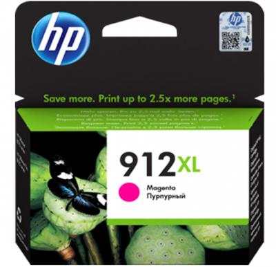 HP 912XL High Yield Magenta Original Ink Cartridge 3YL82AE