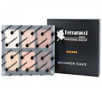 Ferrarucci Cheek Blusher Shimmer Cake 27g, 6006 B2