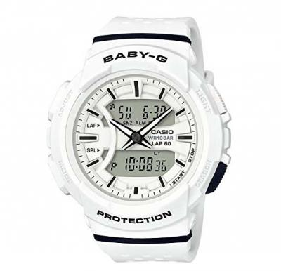 Casio Baby-G BGA-240 Two-Tone Series Black White Watch BGA-240-7A