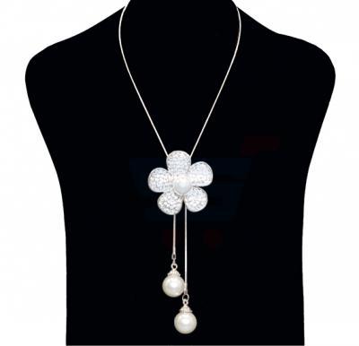 Yimeinuo Fashion Jewelry Necklace Flower Ball Design NO.FJ-401