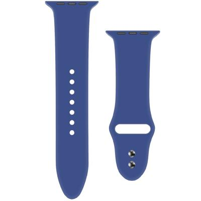 Promate ORYX-38SM Silicone Apple Watch Strap 38mm 40mm, Blue
