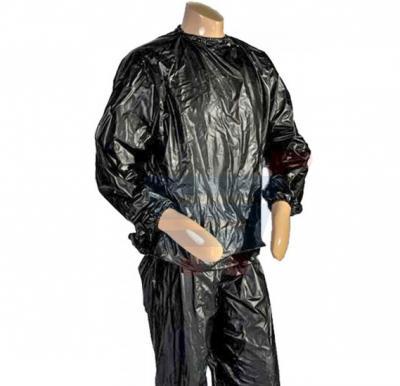 Black Sauna Suit Size XXXL