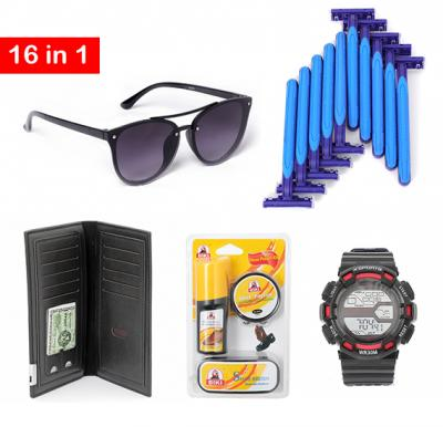 16 in 1 Mens Utility and Fashion Kit