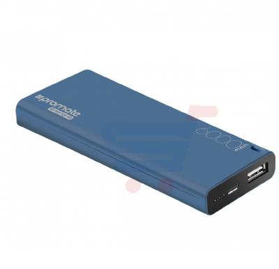 Promate Power Bank, High Capacity 6000mAh Ultra Compact Portable Battery Charger with 2.1A USB Port Charger and Automatic Voltage Regulation for Smartphones, Tablets, MP3, GPS, Energi-6.BLUE